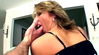 Tight butt destroyed with fat cocks porno