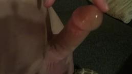 Hands free erection control, nice precum too!