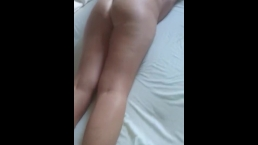 Wife ready for painal - she bites the sheets