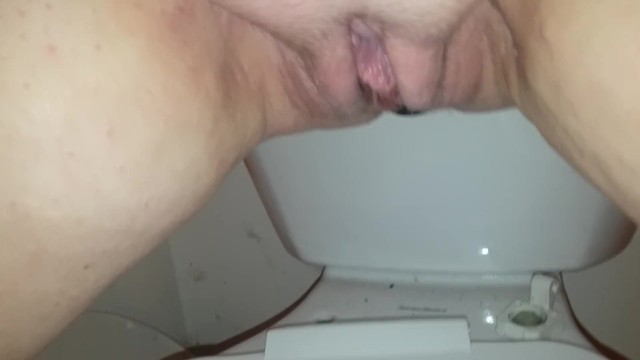 BigTits4BigCock Plays in her Squirting Piss Orgasm on Toilet 10