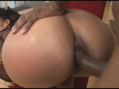 your Big Booty Ebony Step Mom Gets Anal Fucking