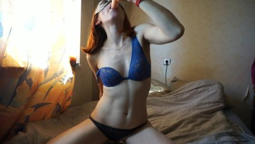wife wet blowjob dildo