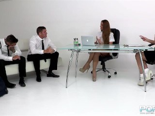Anal Fisting the boss at work
