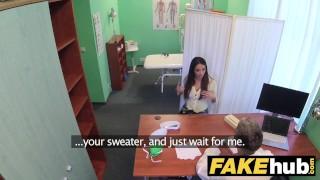 Cum brunette fake swallows with tits docs big patient tall natural hospital tits cum