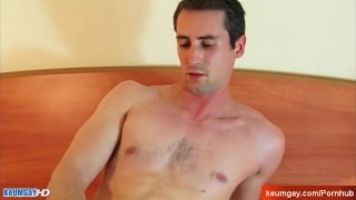 Until jerk-off: Guizom, str8 guy wanked in spite of him
