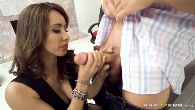 Hot Brunette Boss Fucks Her Coworker - Brazzers 10