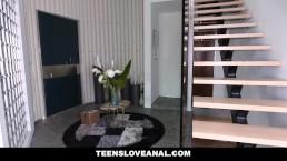 TeensLoveAnal - Hot Blonde Teen Loves Fidget Spinner Ass Plug