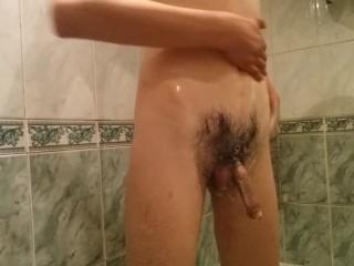 dathroom boy.soap cock