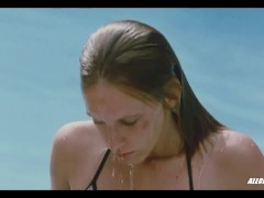 Ludivine Sagnier Nude in Swimming Pool