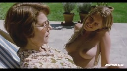 Ludivine Sagnier Nude in Swimming Pool