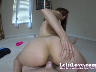 Lelu Love-Stripper POV Teases Before Full Fucking Creampie