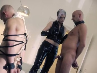 Young German Punk Dominatrix Threesome
