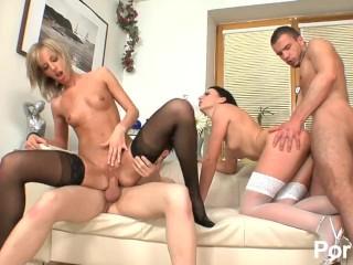 bi sexuální orgie video