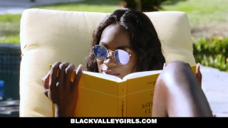 BlackValleyGirls- Flawless Ebony Babe Boned by Obsessed Pool Boy porno