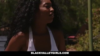 Blackvalleygirls seduced teen preppy black stepdad by rough ebony