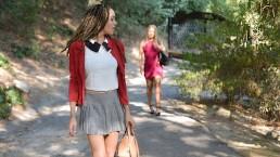 BlackValleyGirls - Witte meid wordt gedumpt voor voorbereide zwarte tiener