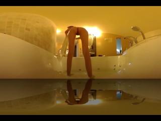 Jacuzzi Hot tube Babe slim Teen VR 360