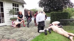 The Femdom slave court