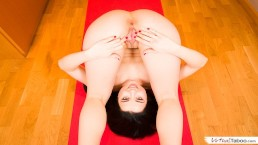 VIRTUAL TABOO - Cute Sister Shows Her Pussy During Yoga Session