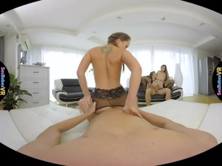 SexBabesVR – Paris Friend Part 1 with Blue Angel and Clea Gaultier