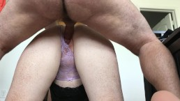 Getting fucked doggystyle and cum on my pussy