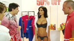 gemma masseys checkout - Scene 1