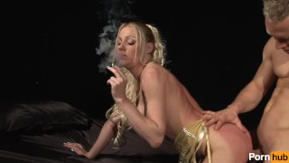 Smoke sighs  scene mother milf