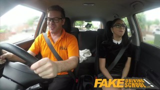 Fake big school for lessons learner sucks spanish cock driving sexy uk sex