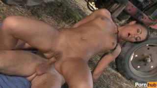 Ranch  girls scene anal boobs small