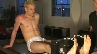 Up all over his tied body blonde twink a dude and tickled fetish blonde