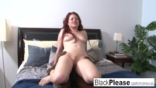 Enough get sexy redhead jessica interracial can't natural cumshot