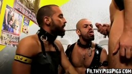 Barraca and Manuel Roko have filthy gay threesome