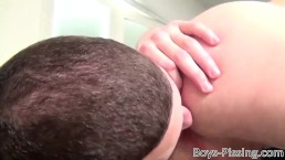 Jimmy Roman and Austin Ried drench each other in warm piss