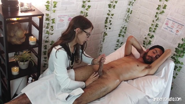 Amateur Massage Parlor Blowjob