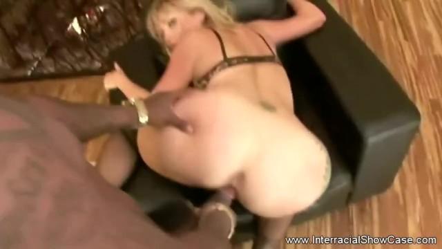 Wild Blonde Housewife BBC Anal 11