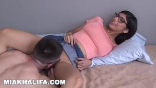 MIA KHALIFA - Big Tits Arab Pornstar Takes A Fan's Virginity (mk13819) porno