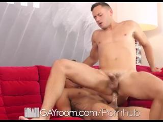 GayRoom Jordan Boss tight asshole punished by Brenner Bolton