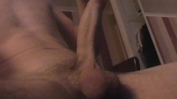 Solo Male Lube up Debut So Horny Uncontrollable Cum shot Under 2 Mins