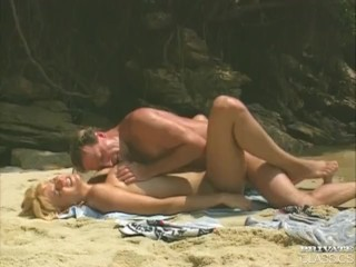 "Laura Palmer in ""Beach Bums"""