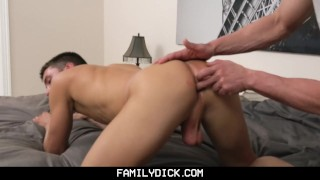 FamilyDick-Daddy and Friend Share His Young Boy