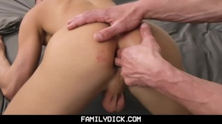 FamilyDick-Daddy and Friend Share His Young Boy porno