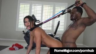 Rome Major Fucks His Personal Trainer Makayla Cox with BBC!