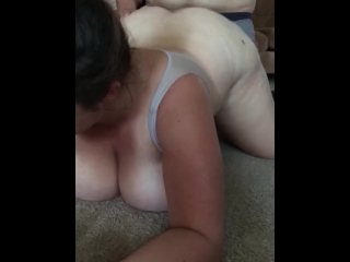 Slutty Wife gets fucked doggy style and recorded by husband's friends!!