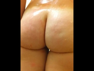 Young Wife Filmed in the Shower