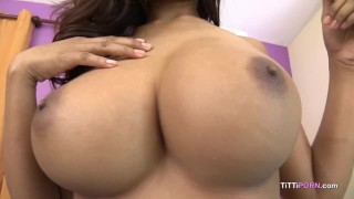 Heavy thrusting was causing my big boobs to jiggle
