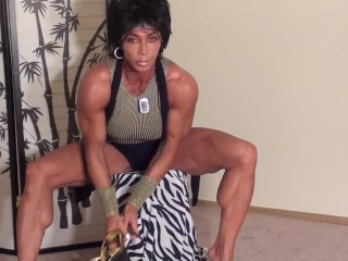 Diamond Shaped Calves and Perfect Peaked Biceps by FBB LDR