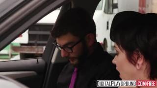 DigitalPlayground - Taking A Ride starring Cadey Mercury and Logan Long