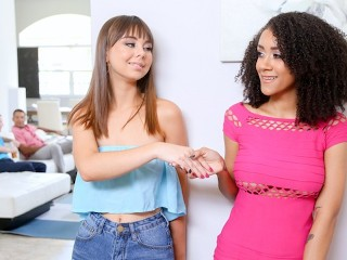 DaughterSwap - Teens Agree To Fuck Each Other's Daddies