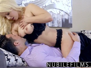 NubileFilms - Kylie Page Surprise Fuck With Step Dad
