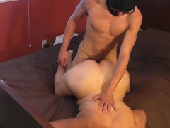 Big booty milf takes cock, then cleans it up